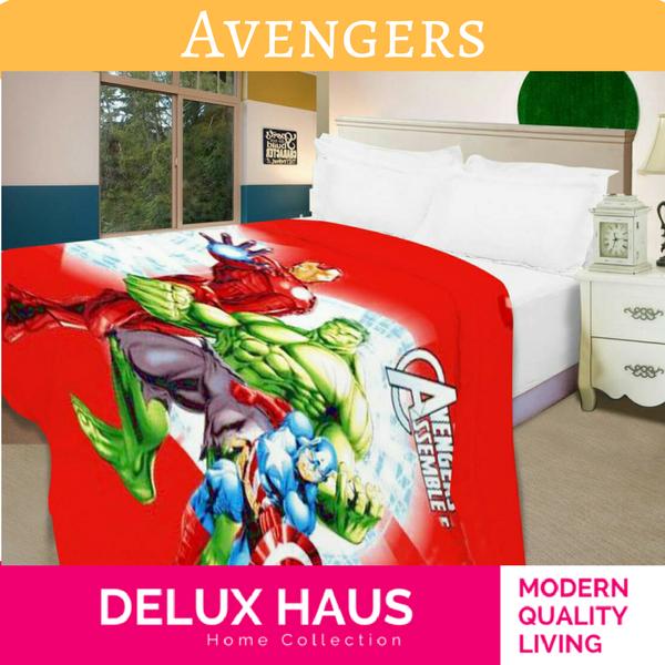 Avengers Assemble Микрофибер детско ќебе