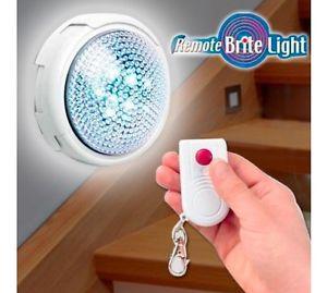Remote Brite Light - безжична светилка со далечинско