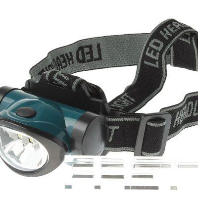 LED Светло за на глава со стегач