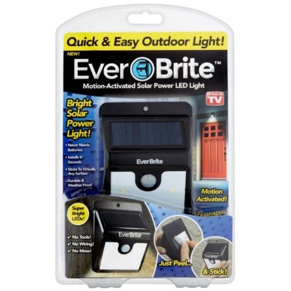 Everbrite Solar Led - Надворешен Соларен LED Рефлектор со сензор