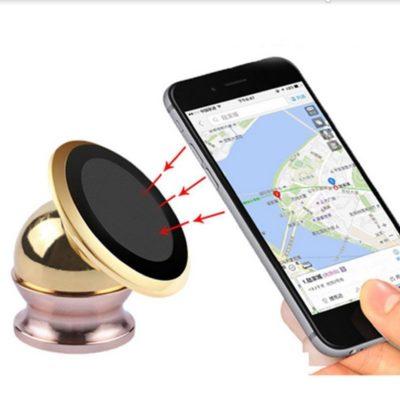 Магнетен држач за мобилен телефон за во автомобил