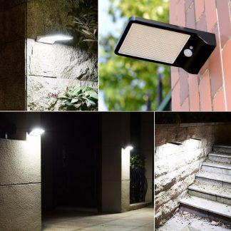 Соларно LED светло со сензор за на ѕид